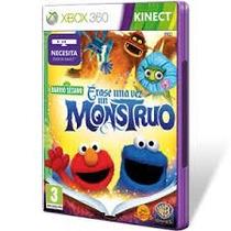 Jogo Vila Sésamo Era Uma Vez Um Monstro Xbox 360 Lacrado Ori