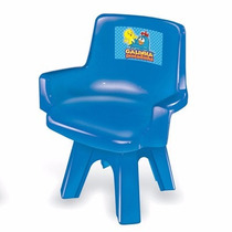 Cadeira Para Mesa Infantil Galinha Pintadinha (azul)