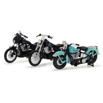Kit Set Sons Of Anarchy 2 Harley Davidson Maisto 1:18 03 Pçs
