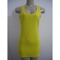 Vestido Amarelo Tam M Love Hard Liganete Ótimo Estado