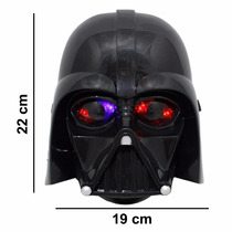 Máscara Star Wars Darth Vader Com Leds Infantil