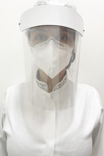 Protetor Proteção Facial Mascara Dentistas Recepcionista Epi