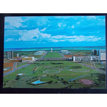 Cartão Postal- Brasília- Eixo Monumental- Não Circulado