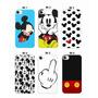 Capinha Case Celular Mickey Disney - Iphone 4/4s, 5/5s, 5c