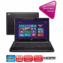 Notebook Lg S460-g.bk36p1 Intel Core I3 4gb Ram 500gb Hd Dvd