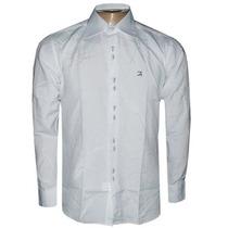 Camisa Social Ricardo Almeida Branca Lisa