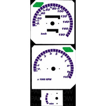 Kit Acrilico Translúcido P/ Painel Cod403v180 Cb450 Dx Honda