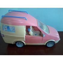 Antigo Trailer Da Barbie Mattel Ótimo Estado
