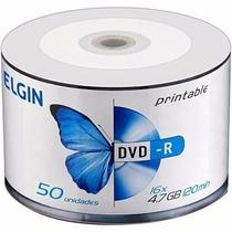 Dvd-r 4,7gb / 120min / 16x Printable Bulk Pino C/25 - Elgin