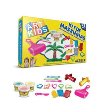 Kit De Massinhas - Art Kids Acrilex Nº6 - Brinq Educativo