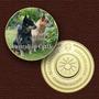 Cães Da Raça ( Australian Cattle)-10801-medalha-frete Grátis