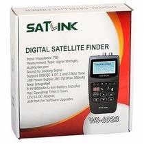 Satlink Ws-6923 Localizador De Satelite Digital Novo!