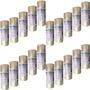 100 Rolos Embalagem Adesiva Transparente 48 Mm X 45 M