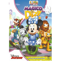 Dvd O Mágico De Dizz A Casa Do Mickey Mouse Da Disney