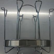 6 Copos Suporte Copos Porta Cozinha Inox Mesa