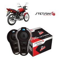Alarme Moto Presença Partida Stetsom Honda Cg 125 Fan 2011