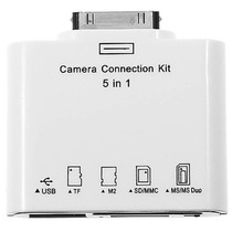 Adaptador Camera Connection P/ Ipad Usb Sd Pendrive Ms Duo