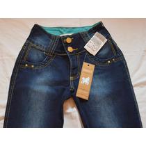 Calça Jeans Escuro Marca Colcci Skinny Temos Pit Bull