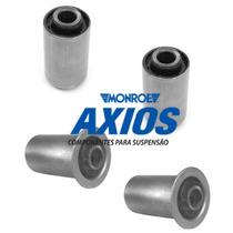 04 Buchas Feixe Mola Traseiro S10 Blazer - Original Axios