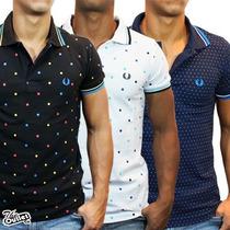 Fred Perry 100% Original Camisa Polo Social