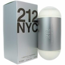Perfume 212 Nyc Carolina Herrera Feminino 100ml Original