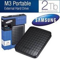 Hd Externo Portatil De Bolso Samsung 2tb M3 Slimline Usb 3.0