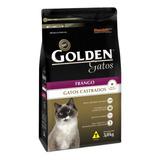 Ração Golden Castrados Premium Especial Gato Adulto Frango 3kg