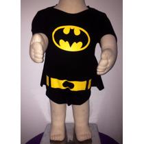 Body Bebê Personagens Batman
