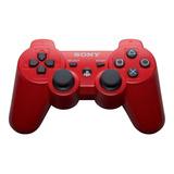 Controle Joystick Sony Dualshock 3 Red