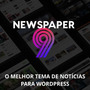 Tema Wordpress Portal De Notícias Newspaper V9.1 Ativado