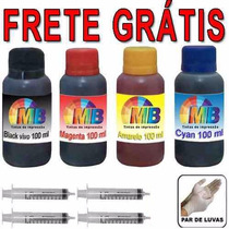 Kit Tinta Recarga Cartucho Impressoras Bulk Ink Frete Gratis