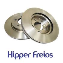 Kit Disco Freio + Pastilha Novo Uno Vivace Novo Palio Hf31c