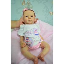 Linda Bebê Reborn - Recen Nascida Colecionável