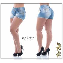 Shorts Pit Bull Pitbull Jeans Levanta Bumbum - Frete Grátis!