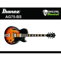 Guitarra Semi-acústica Ibanez Ag75-bs