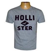 Camiseta Hollister Cinza Hco366