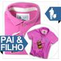 Pai & Filho Camiseta Polo S&f Qualid.de Importada 2861648