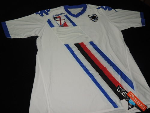 Camisa Sampdoria Away 2011 Tam. G 2518dcdeab1f8