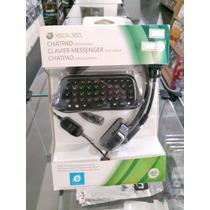 Xbox 360 Acessório Chatpad Com Headset - Lacrado E Original