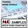 Samples Pianos Korg Pa50sd Kontakt ( Lançamento 2015 )