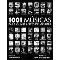Dvd 1001 Musicas Para Ouvir Antes De Morrer - 3 Dvds Musicas