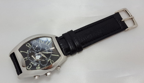 13b1c661f9b Relógio Masculino Natan Cronógrafo Couro Original