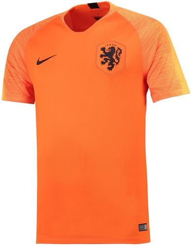 593bac84aa Camisa Seleção Da Holanda - Uniforme 1 - 2018 - Frete Grátis - R ...