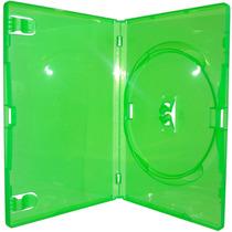 Estojo Capa Dvd Box Amaray Verde Caixa C/ 100 Unidades
