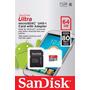 Cartão Micro Sdxc 64gb 80mb/s Ultra Sd Sandisk Classe 10