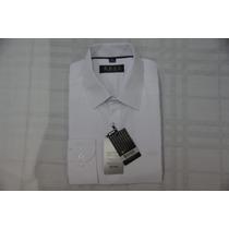 Camisa Social Masculina Hugo Boss Cor Branco