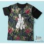 Camisa Camiseta Estampa Floral Swag Dolar Oferta