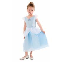 Vestido Fantasia Princesa Pronta Entrega Cinderela Infantil