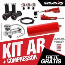 Gm Monza - Suspensão Ar 8mm Com Compressor Macaulay Oficial