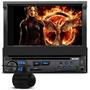 Dvd Player Multilaser Blade P3295 Retratil + Câmera De Ré